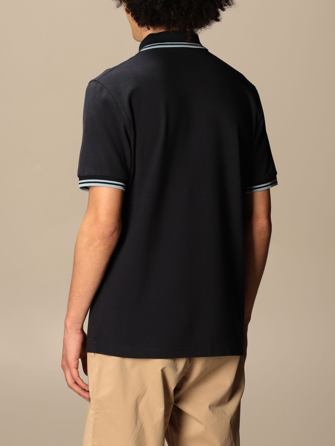 Polo Fred Perry: Polo hombre Fred Perry azul marino 2