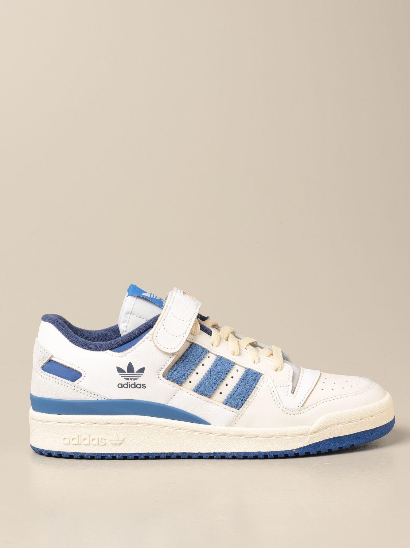Sneakers Adidas Originals: Forum 84 Adidas Originals sneakers in leather and suede white 1