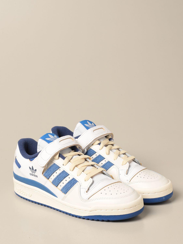 Sneakers Adidas Originals: Forum 84 Adidas Originals sneakers in leather and suede white 2