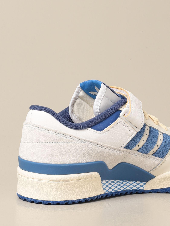 Sneakers Adidas Originals: Forum 84 Adidas Originals sneakers in leather and suede white 3