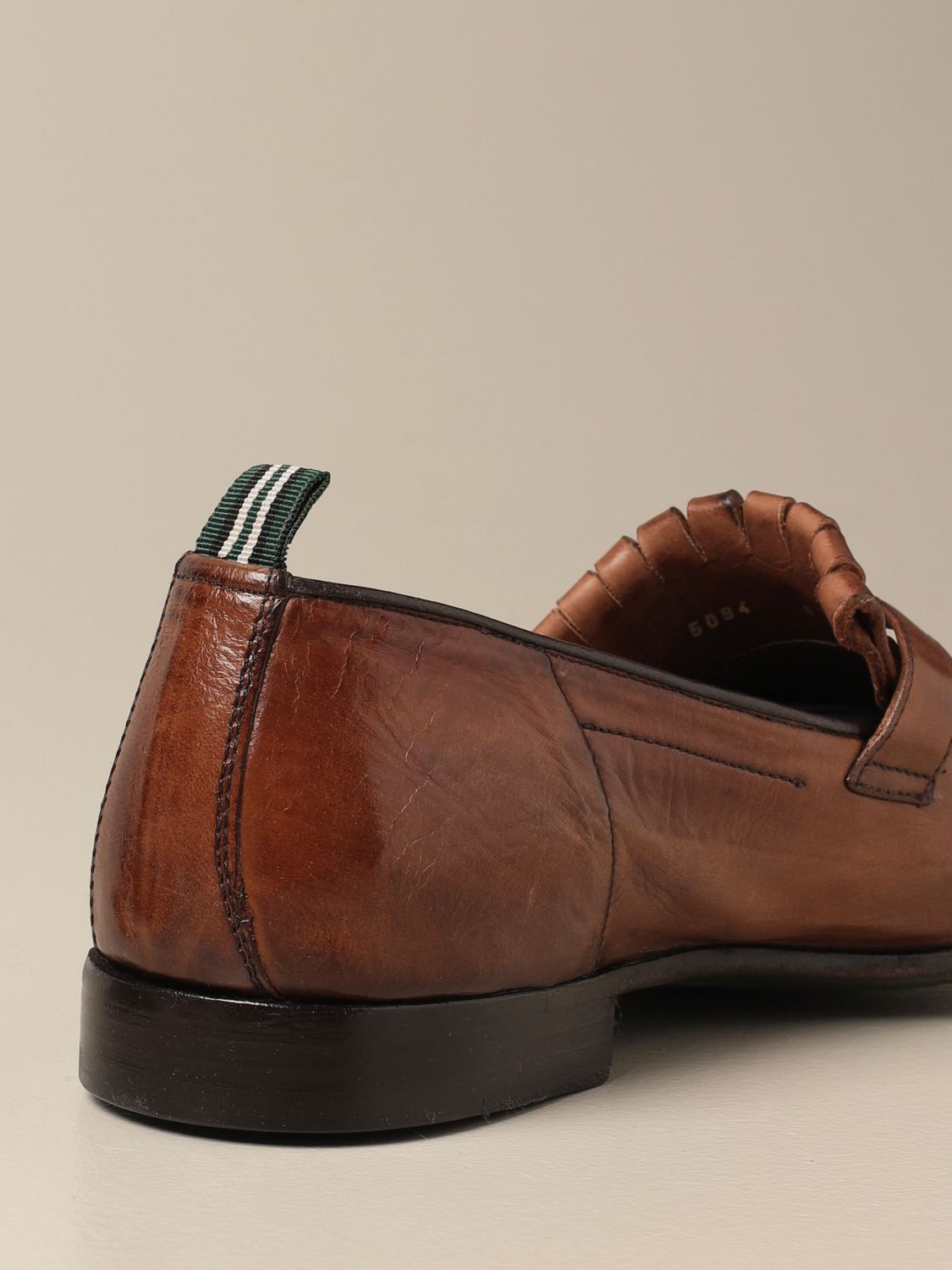 Loafers Green George: Shoes men Green George dark 3
