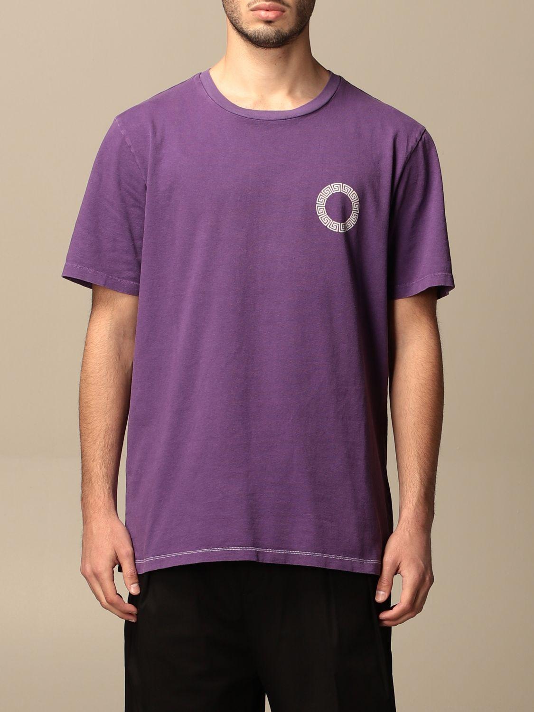 T-shirt Danilo Paura: T-shirt Danilo Paura con logo posteriore grigio 1