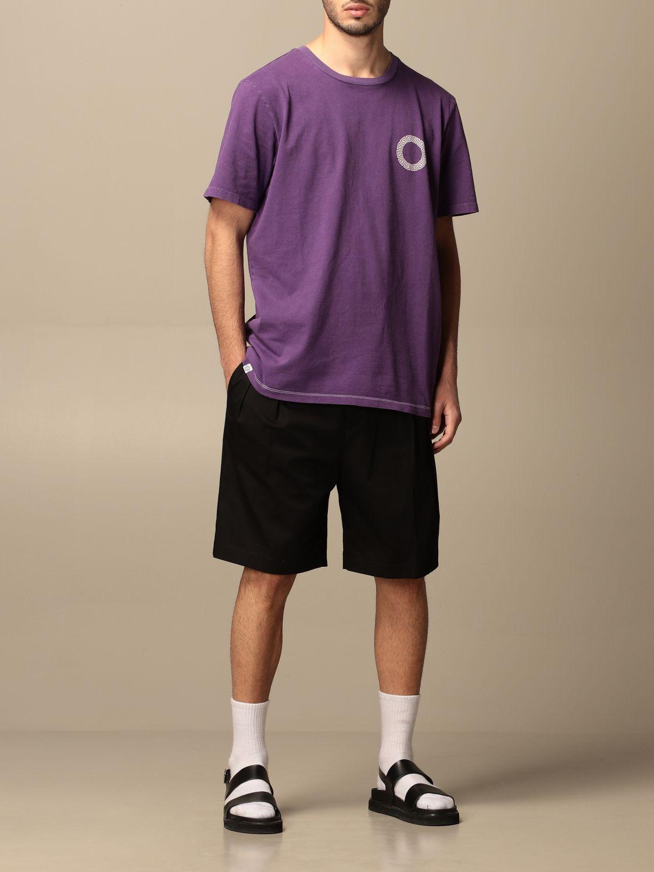 T-shirt Danilo Paura: T-shirt Danilo Paura con logo posteriore grigio 2