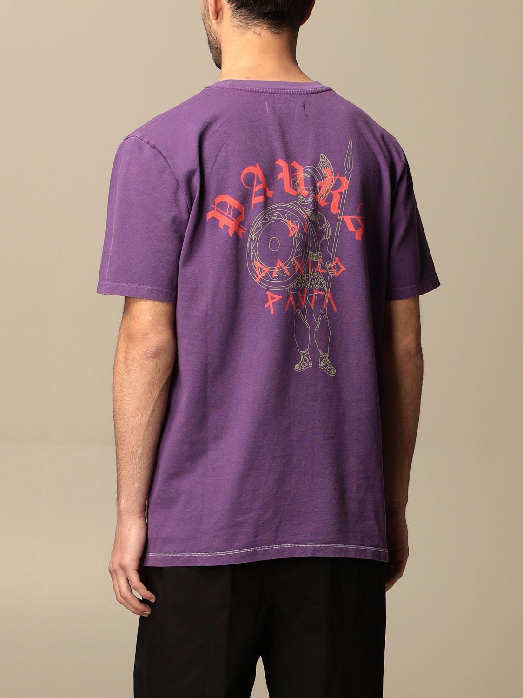 T-shirt Danilo Paura: T-shirt Danilo Paura con logo posteriore grigio 3