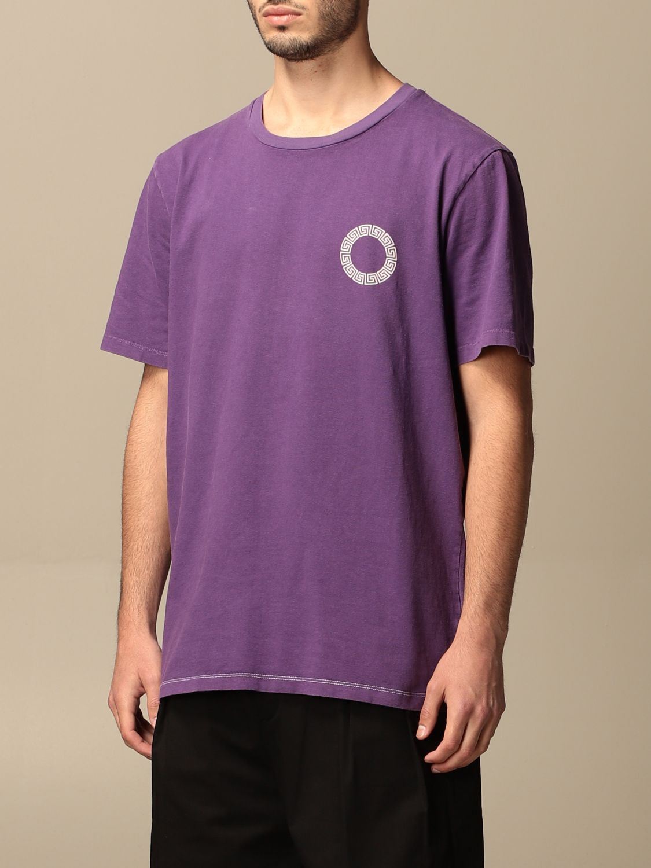 T-shirt Danilo Paura: T-shirt Danilo Paura con logo posteriore grigio 4