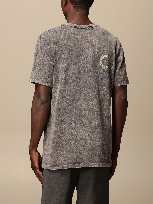 T-shirt Danilo Paura: T-shirt Danilo Paura con logo grigio 2