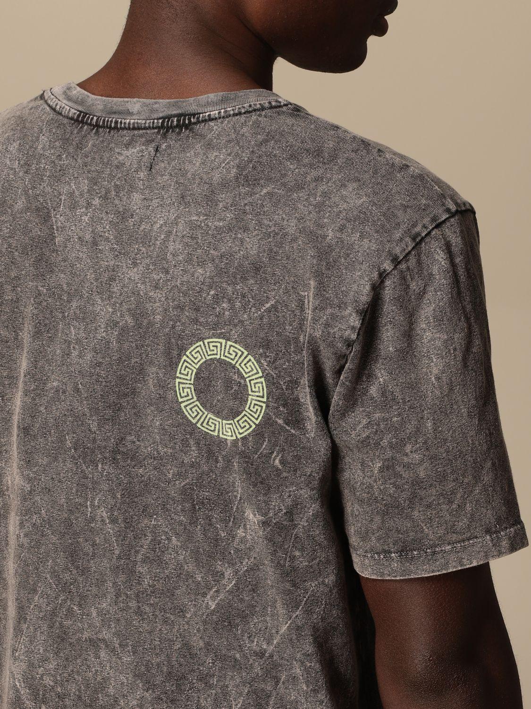 T-shirt Danilo Paura: T-shirt Danilo Paura con logo grigio 4