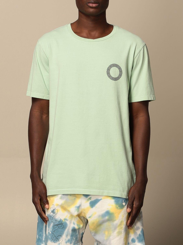T-shirt Danilo Paura: T-shirt Danilo Paura in cotone con logo grigio 1