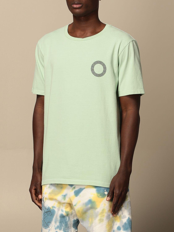 T-shirt Danilo Paura: T-shirt Danilo Paura in cotone con logo grigio 3