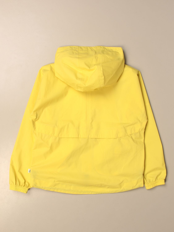 Giacca K-Way: Giacca con zip K-way con logo giallo 2