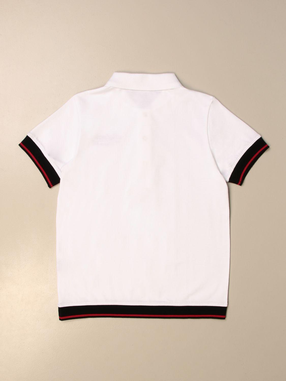 Polo Balmain: Camiseta niños Balmain blanco 2