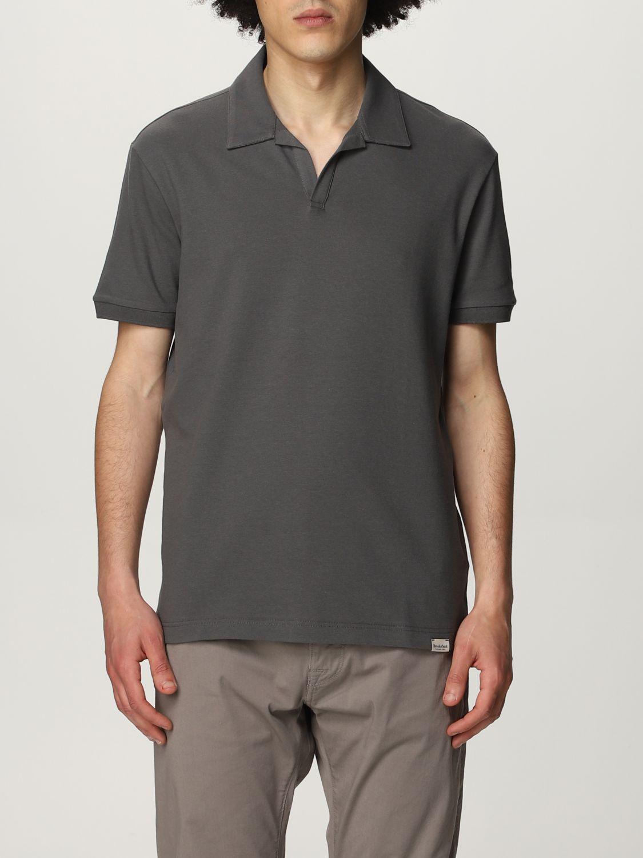 Polo Brooksfield: Polo hombre Brooksfield gris 1