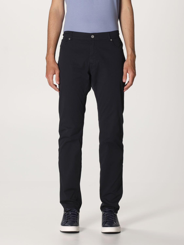 Pantalone Brooksfield: Pantalone Brooksfield con tasche bull blue 1