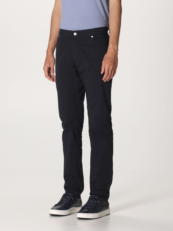Pantalone Brooksfield: Pantalone Brooksfield con tasche bull blue 3