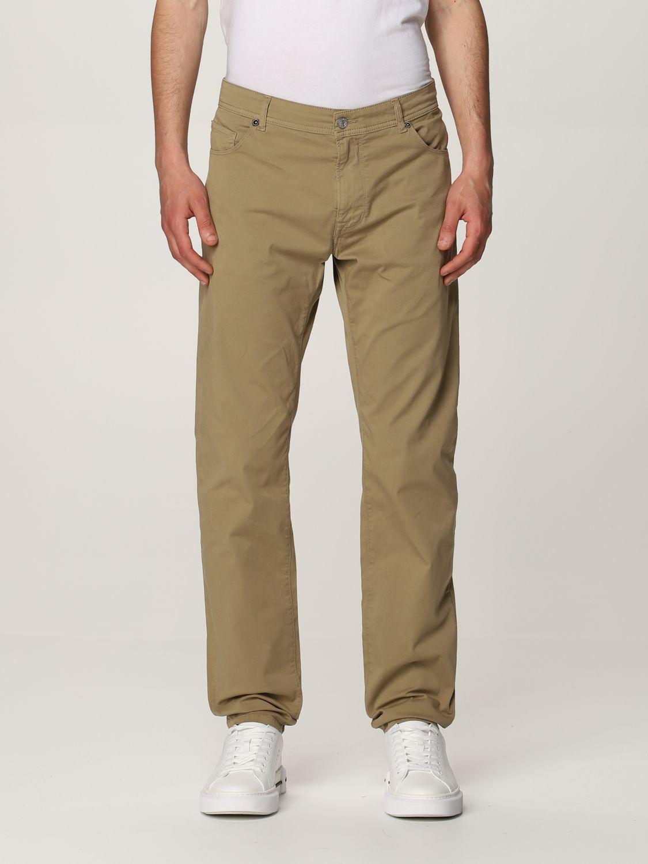 Pantalon Brooksfield: Pantalon homme Brooksfield beige 1