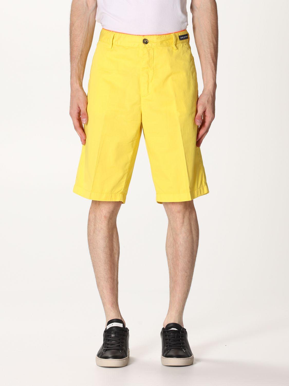 Pantalones cortos Paul & Shark: Pantalones cortos hombre Paul & Shark amarillo 1