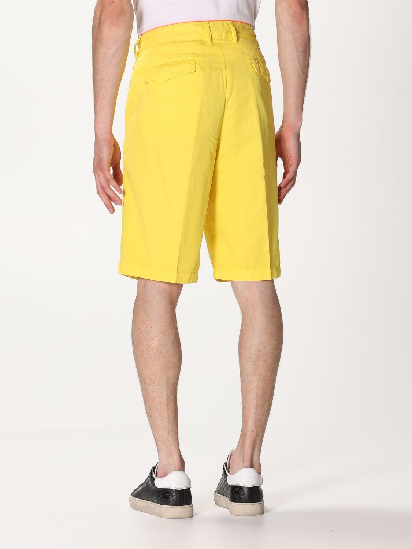 Pantalones cortos Paul & Shark: Pantalones cortos hombre Paul & Shark amarillo 2