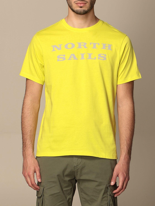 Camiseta North Sails: Camiseta hombre North Sails amarillo 1
