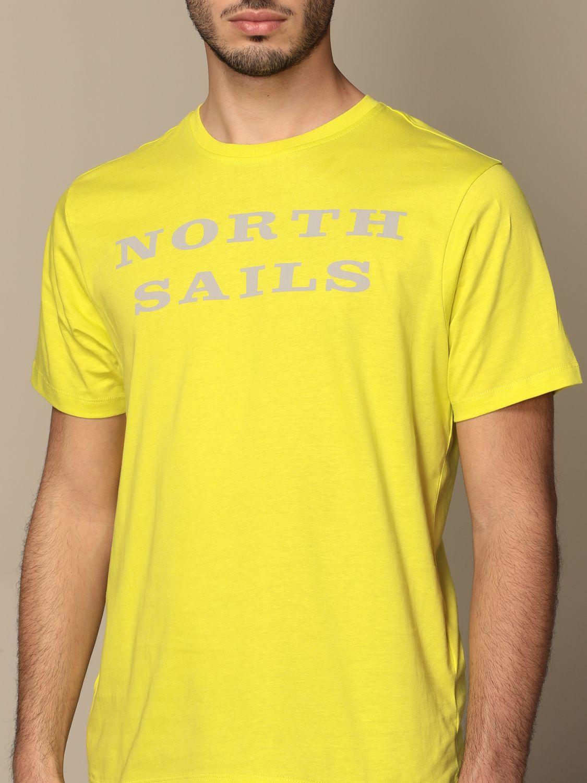 Camiseta North Sails: Camiseta hombre North Sails amarillo 3