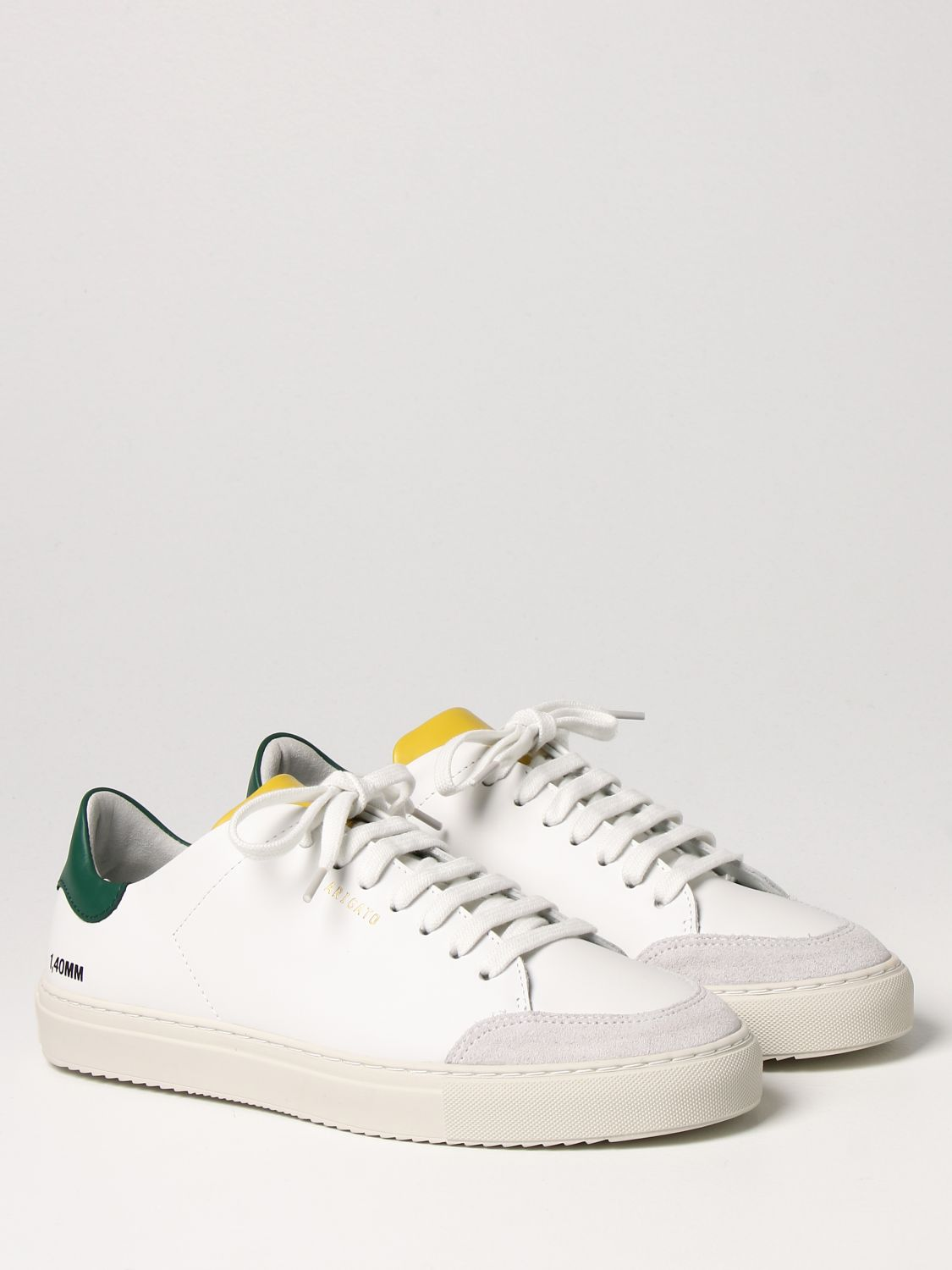 Sneakers Axel Arigato: Axel Arigato lace-up sneakers in leather with logo white 2