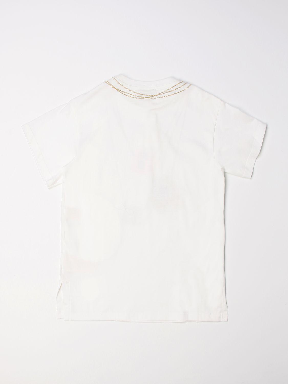 Dress Fendi: Fendi short dress with bags print white 2