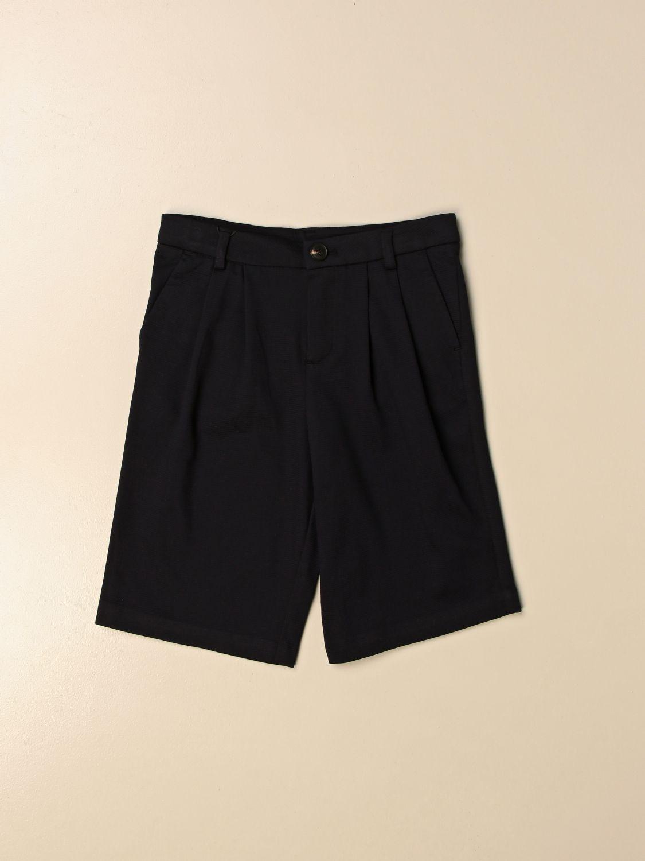 Pantaloncino Emporio Armani: Pantaloncino basic Emporio Armani blue 1