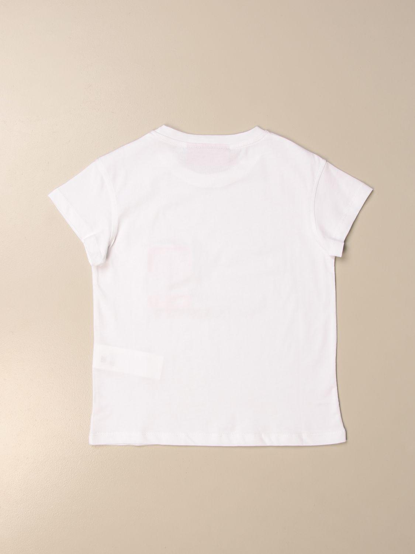 Camisetas Chiara Ferragni: Camisetas niños Chiara Ferragni blanco 2