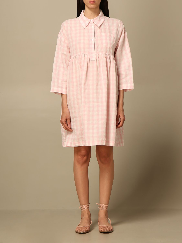 Kleid Semicouture: Kleid damen Semicouture pink 1