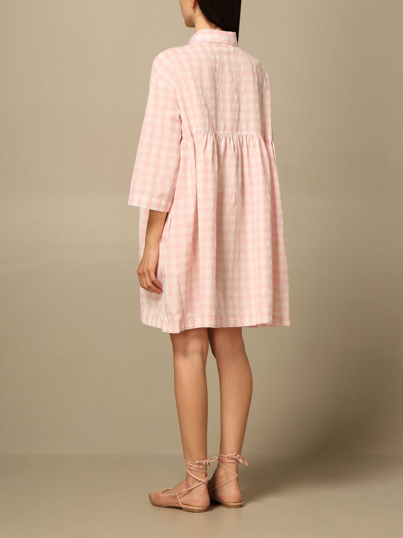 Kleid Semicouture: Kleid damen Semicouture pink 2