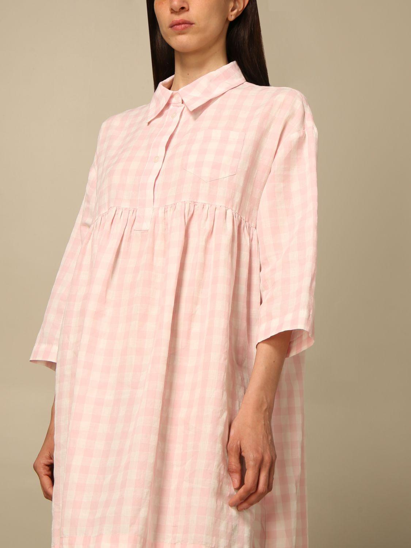 Kleid Semicouture: Kleid damen Semicouture pink 3