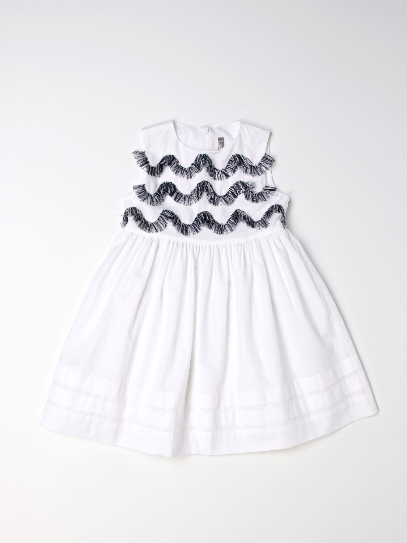 Vestido Il Gufo: Vestido niños Il Gufo blanco 1