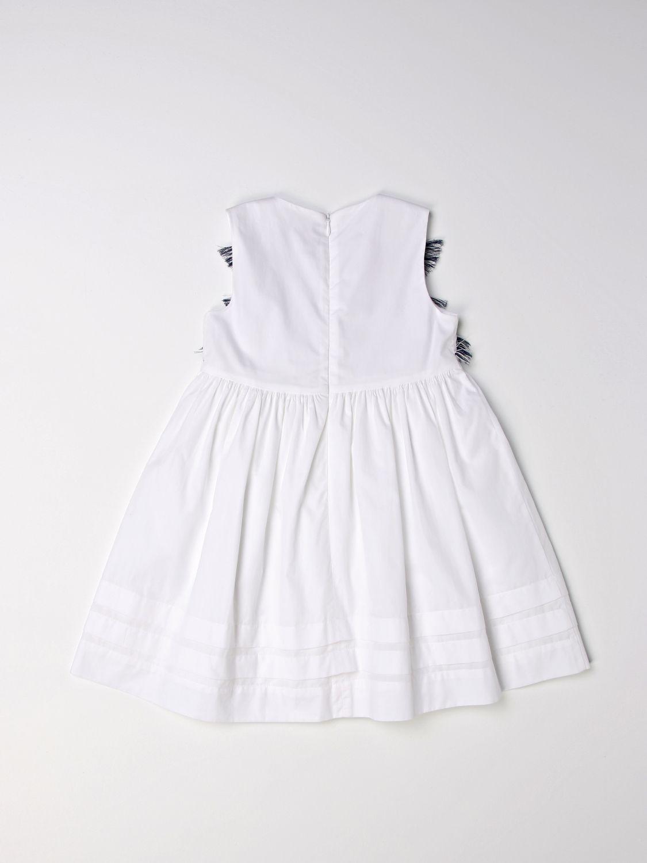 Vestido Il Gufo: Vestido niños Il Gufo blanco 2