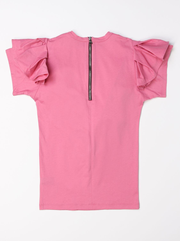 Vestido Balmain: Vestido niños Balmain rosa 2