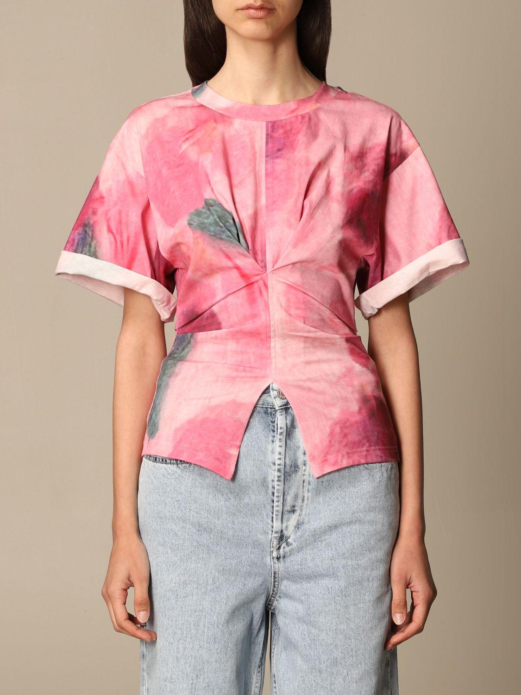 T-Shirt Isabel Marant: T-shirt damen Isabel Marant pink 1