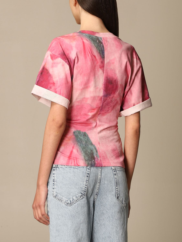 T-Shirt Isabel Marant: T-shirt damen Isabel Marant pink 3