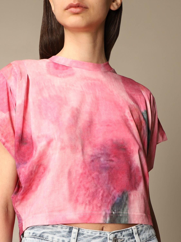 T-Shirt Isabel Marant: T-shirt damen Isabel Marant pink 5