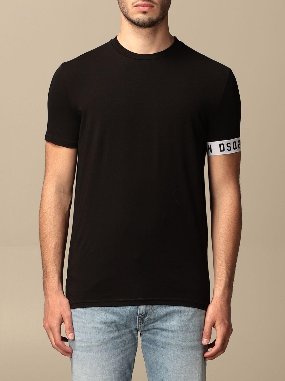 T-shirt Dsquared2: T-shirt men Dsquared2 black 1