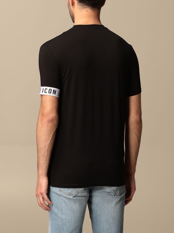 T-shirt Dsquared2: T-shirt men Dsquared2 black 2