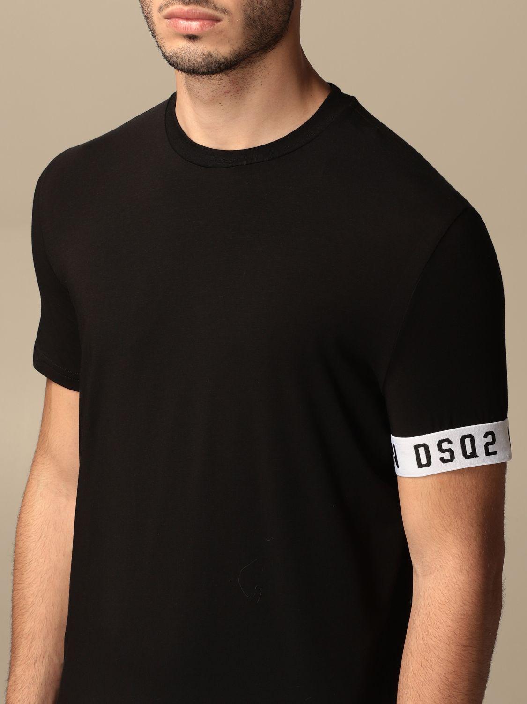 T-shirt Dsquared2: T-shirt men Dsquared2 black 3