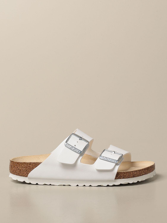 Sandales Birkenstock: Chaussures homme Birkenstock blanc 1