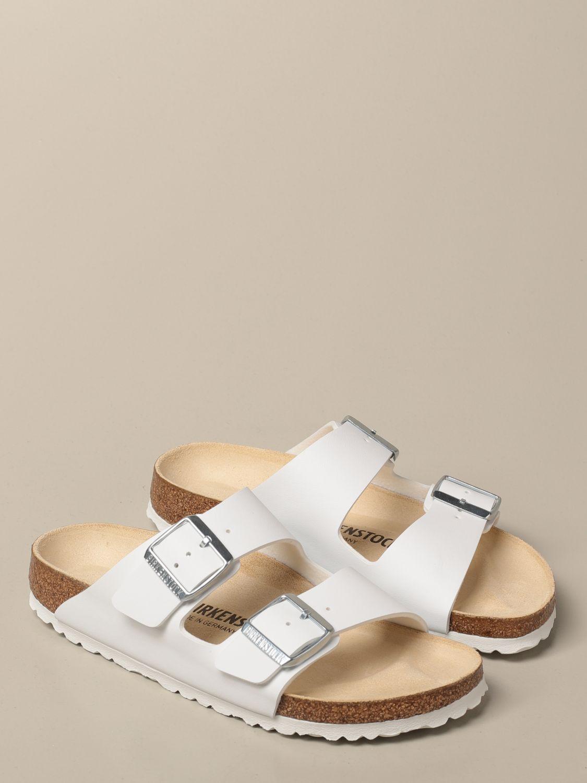 Sandales Birkenstock: Chaussures homme Birkenstock blanc 2