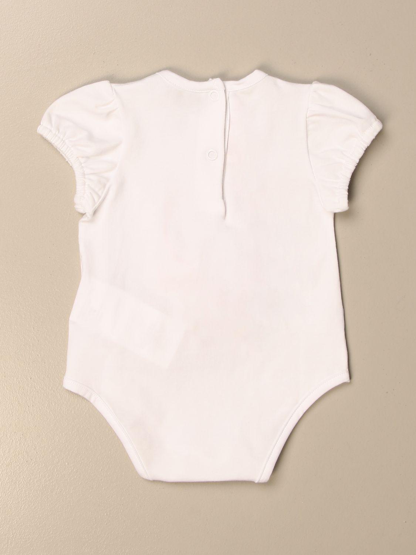 Body Miss Blumarine: Body Miss Blumarine in cotone con orsetto bianco 2