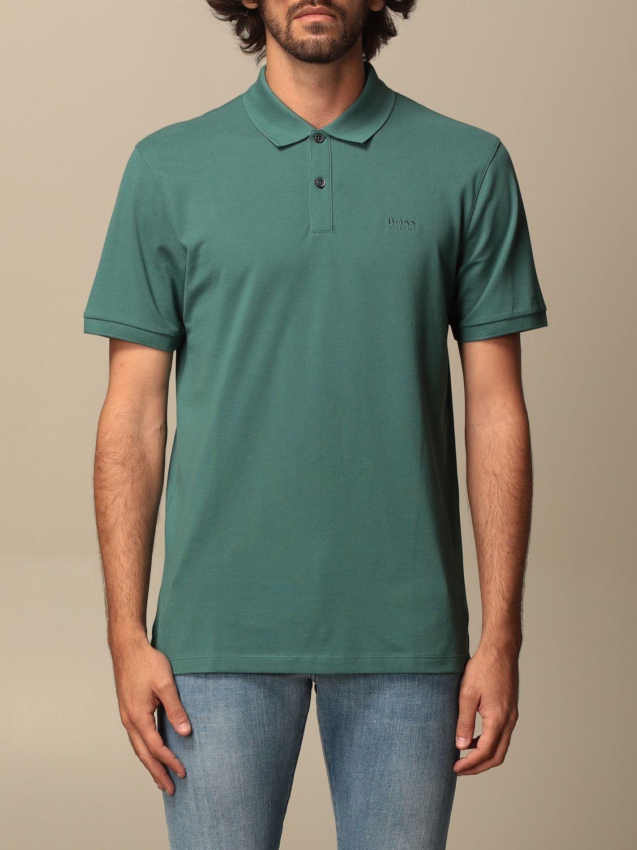 Polo Boss: Camiseta hombre Boss verde 1