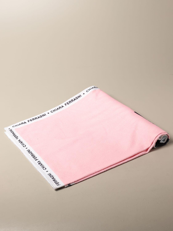 女孩浴巾 Chiara Ferragni: 女孩浴巾 儿童 Chiara Ferragni 粉色 1