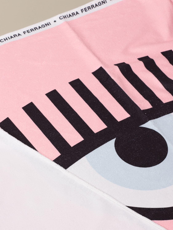 女孩浴巾 Chiara Ferragni: 女孩浴巾 儿童 Chiara Ferragni 粉色 2