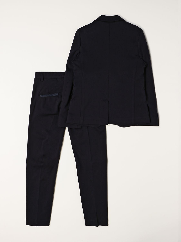 Suit Paolo Pecora: Suit kids Paolo Pecora black 2
