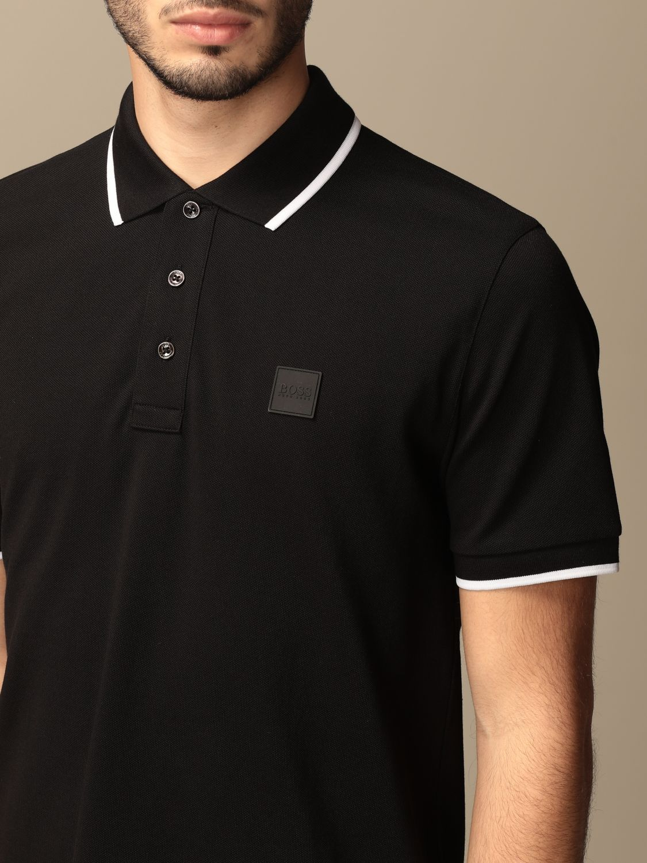Polo Boss: Camiseta hombre Boss negro 3