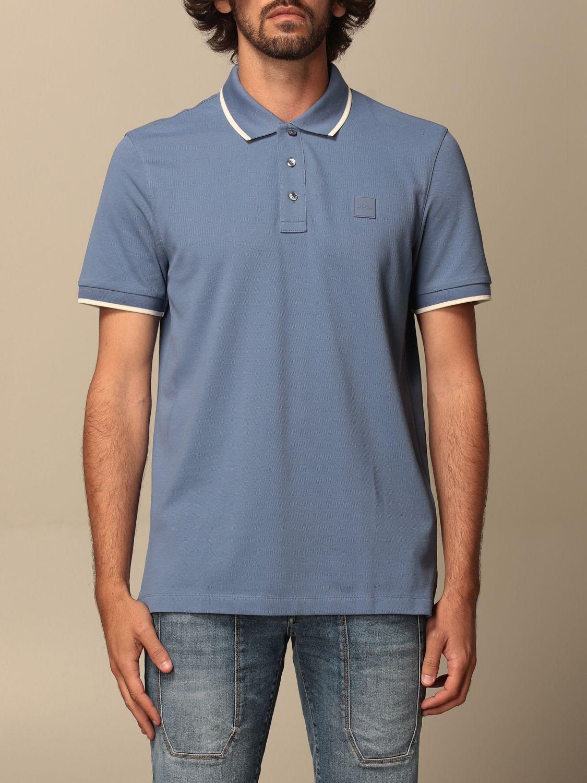 Polo Boss: Camiseta hombre Boss azul oscuro 1