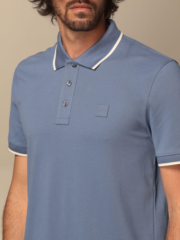 Polo Boss: Camiseta hombre Boss azul oscuro 3