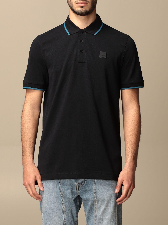 Polo Boss: Camiseta hombre Boss azul marino 1